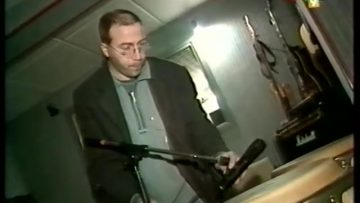 1999 – Lino Buttice présente son studio d'enregistrement sur RTL9