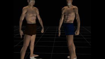 2004 – Le combat des chefs : Petite animation en 3D
