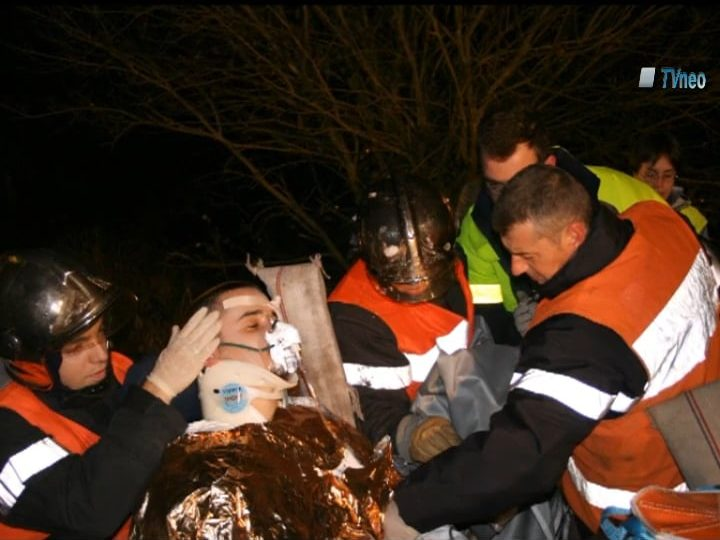 2006 – Les sapeurs pompiers de Neuves-Maisons en exercice