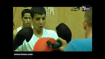 2007 – L'entraînement du club de Kick boxing