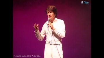 "2010 – André Gilles à Révélation chante ""I´ll Never Fall In Love Again""de Tom Jones"