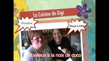 2012 – La Cuisine de Gigi – Moelleux à la noix de coco