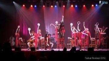 2012 – Le Groupe de Danse Bazar de filles à Révélation – Be Italian