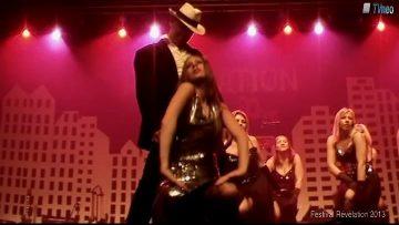 2013 – Le Groupe de Danse Bazar de filles à Révélation – James Bond
