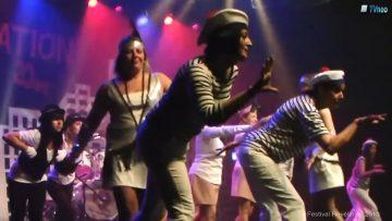 2013 – Le groupe de danse Bazar de filles à Révélation – ElectroSwing