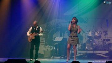 2014 – Céline Daubigny et Lino Buttice Calogéro du groupe 2C au festival Révélation