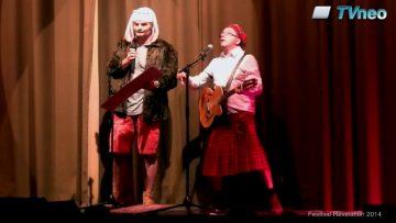 """2014 – Laurent et LIno chantent """"Un Oranger"""" avec humour au festival Révélation"""
