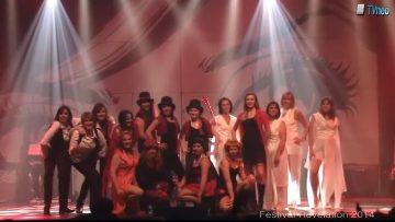 2014 – Le groupe de danse Bazar de filles à Révélation – Mylène Farmer