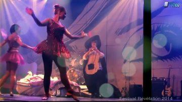 2014 – Le groupe de danse Bazar de filles à Révélation – Rêve d'une nuit