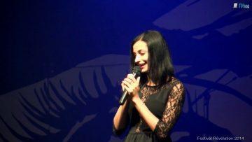 2014 – Mariam Konate chante au festival Révélation