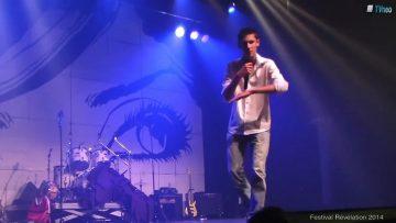 2014 – Tanguy chante au festival Révélation