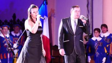2015 – Céline et Alex au cencert de Noël chantent The First Noël – OCEAN