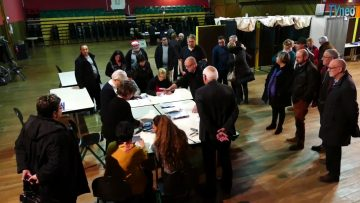 2015 – Dépouillement des votes à Neuves-Maisons : Elections régionales