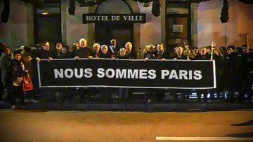 2015 – Hommage aux victimes des attentats de ce 13 novembre à Neuves-Maisons