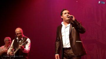 2016 – Alex Vaz chante Les yeux de la mama accompagné par Respirando à Révélation