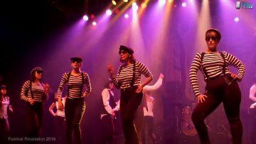 2016 – Uptown Funk par le groupe de danseBazar de filles à Révélation