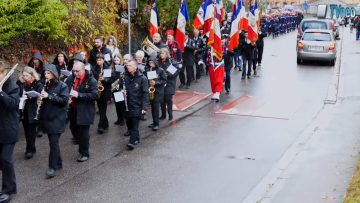 2018 – Cérémonie officielle du centenaire de l'armistice de 2018 – Moselle et Madon