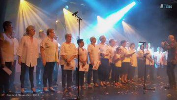 2018 – La chorale des électrons libres au Festival Révélation sur le titre SI Maman Si