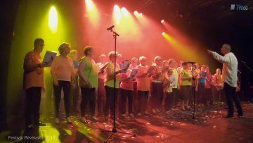 2018 – La chorale des électrons libres au Festival Révélation sur le titre États d'Amour