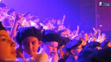 2018 – Plus de 300 enfants de Moselle et Madon chantent pour le concert de la paix