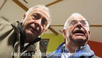 2019 – Réactions des spectateurs pour l'avant première du film Neuves-Maisons d'hier à aujourd'hui raconté par ses habitants