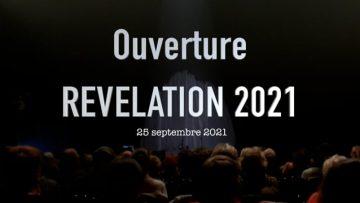 2021 – Ouverture du festival Révélation